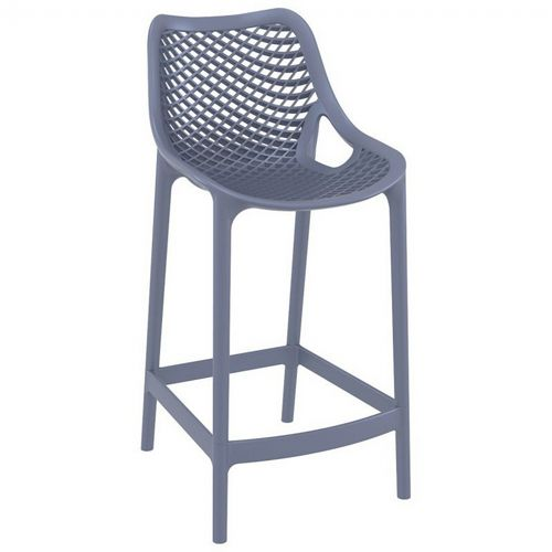 Air Outdoor Counter High Chair Dark Gray ISP067-DGR