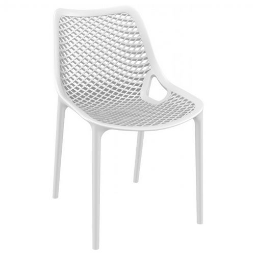Air Outdoor Dining Chair White ISP014-WHI
