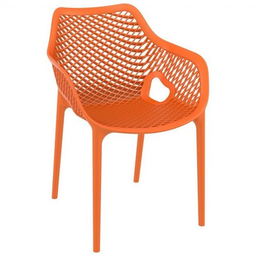Air XL Outdoor Dining Arm Chair Orange ISP007-ORA