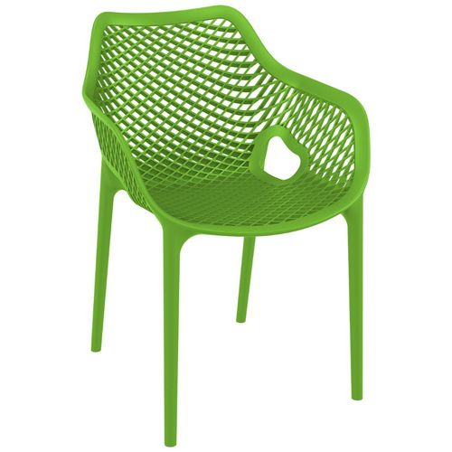 Air XL Outdoor Dining Arm Chair Tropical Green ISP007-TRG