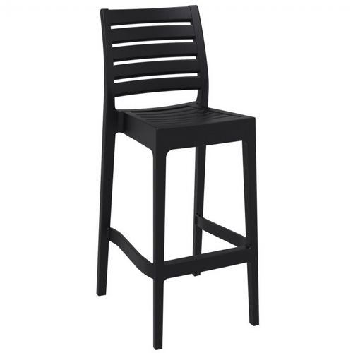 Ares Outdoor Barstool Black ISP101-BLA