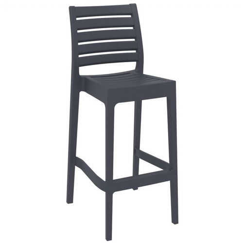 Ares Outdoor Barstool Dark Gray ISP101-DGR