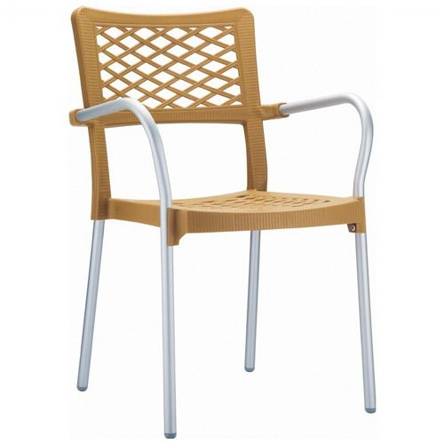 Bella Outdoor Arm Chair Teak ISP040-TEA