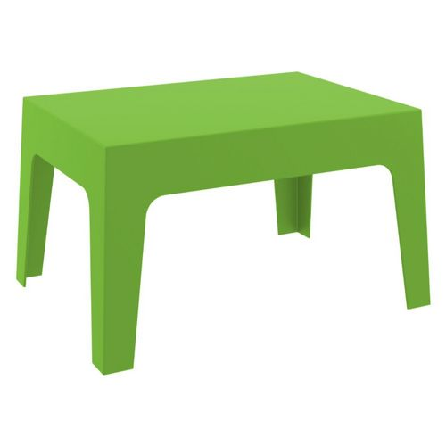 Box Resin Outdoor Coffee Table Tropical Green Isp064 Trg