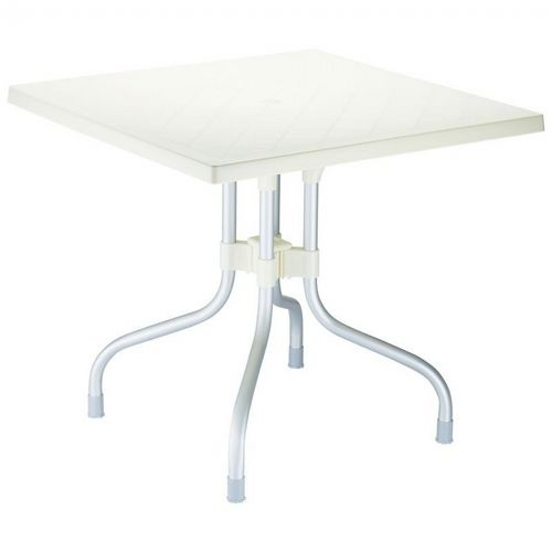Forza Square Folding Table 31 inch - Beige ISP770-BEI
