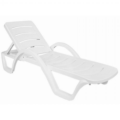 Havana Sunrise Resin Chaise Lounge Isp078 Whi