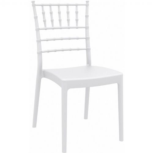 Josephine Wedding Chair White ISP050-WHI