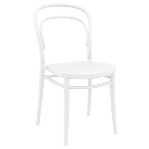 Marie Resin Outdoor Chair White ISP251-WHI