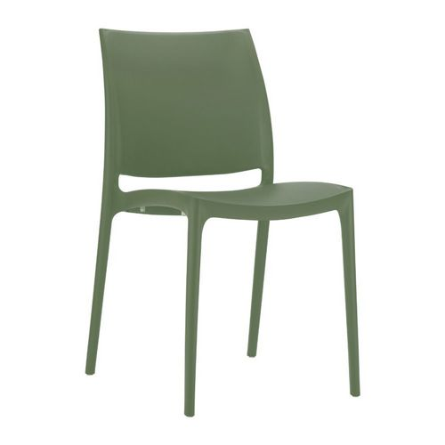 Maya Dining Chair Olive Green ISP025-OLG
