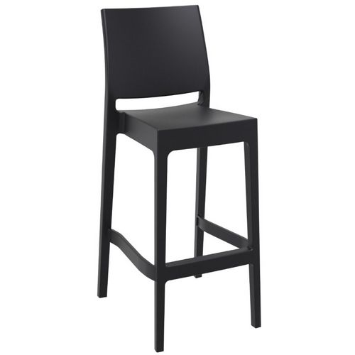 Maya Outdoor Barstool Black ISP099-BLA