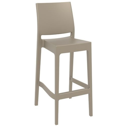 Maya Outdoor Barstool Taupe ISP099-DVR