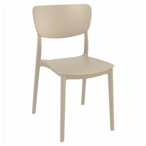 Monna Outdoor Dining Chair Taupe ISP127-DVR