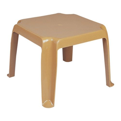 Sunray Square Side Table - Cafe Latte ISP240-TEA