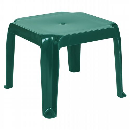 Sunray Square Side Table - Green ISP240-GRE