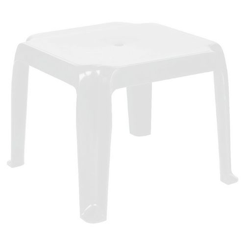 Sunray Square Side Table ISP240-WHI