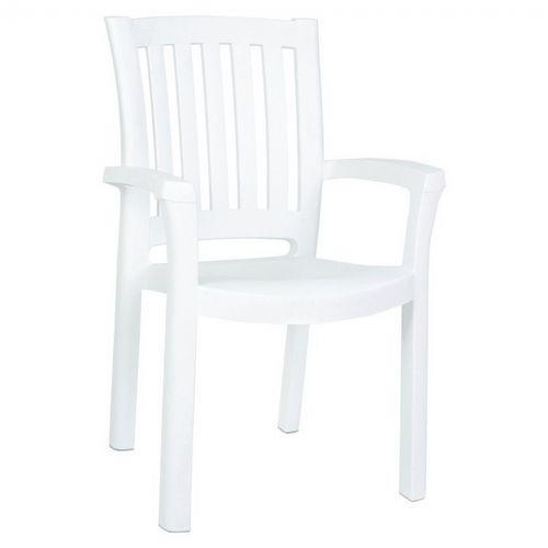 Sunshine Resin Arm Chair ISP015-WHI