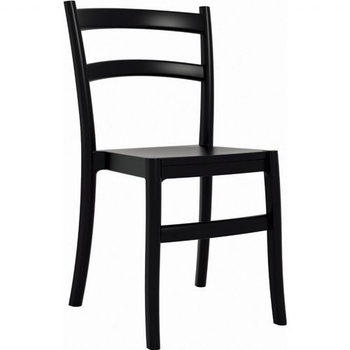 Tiffany Cafe Outdoor Dining Chair Black ISP018-BLA