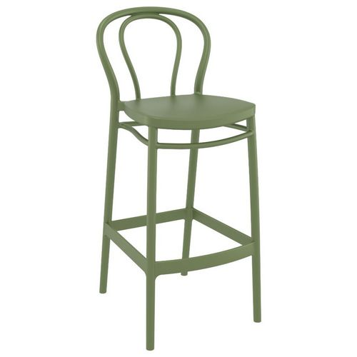 Victor Outdoor Bar Stool Olive Green ISP262-OLG