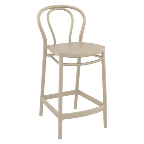 Victor Outdoor Counter Stool Taupe ISP261-DVR