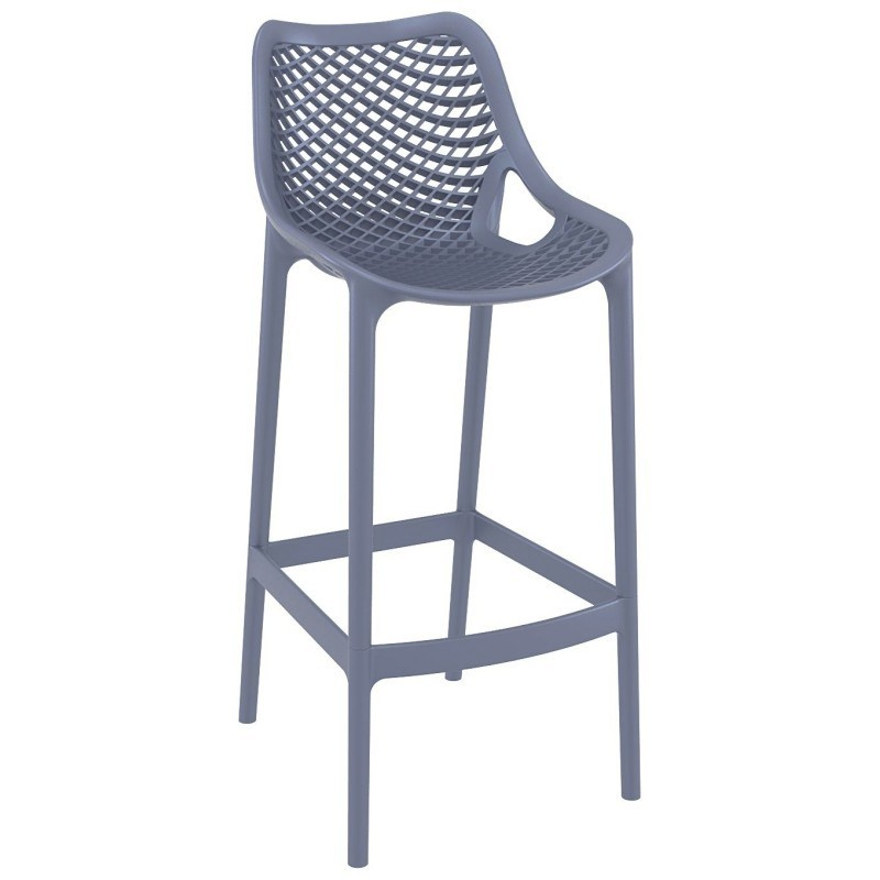 Air Outdoor Bar High Chair Dark Gray