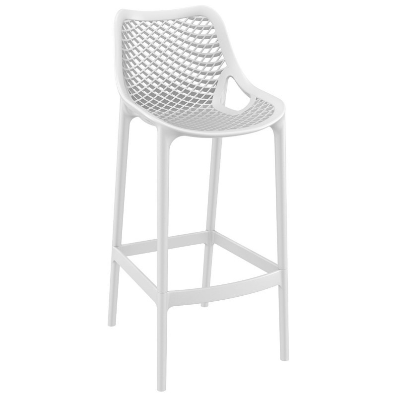 Air Outdoor Bar High Chair White