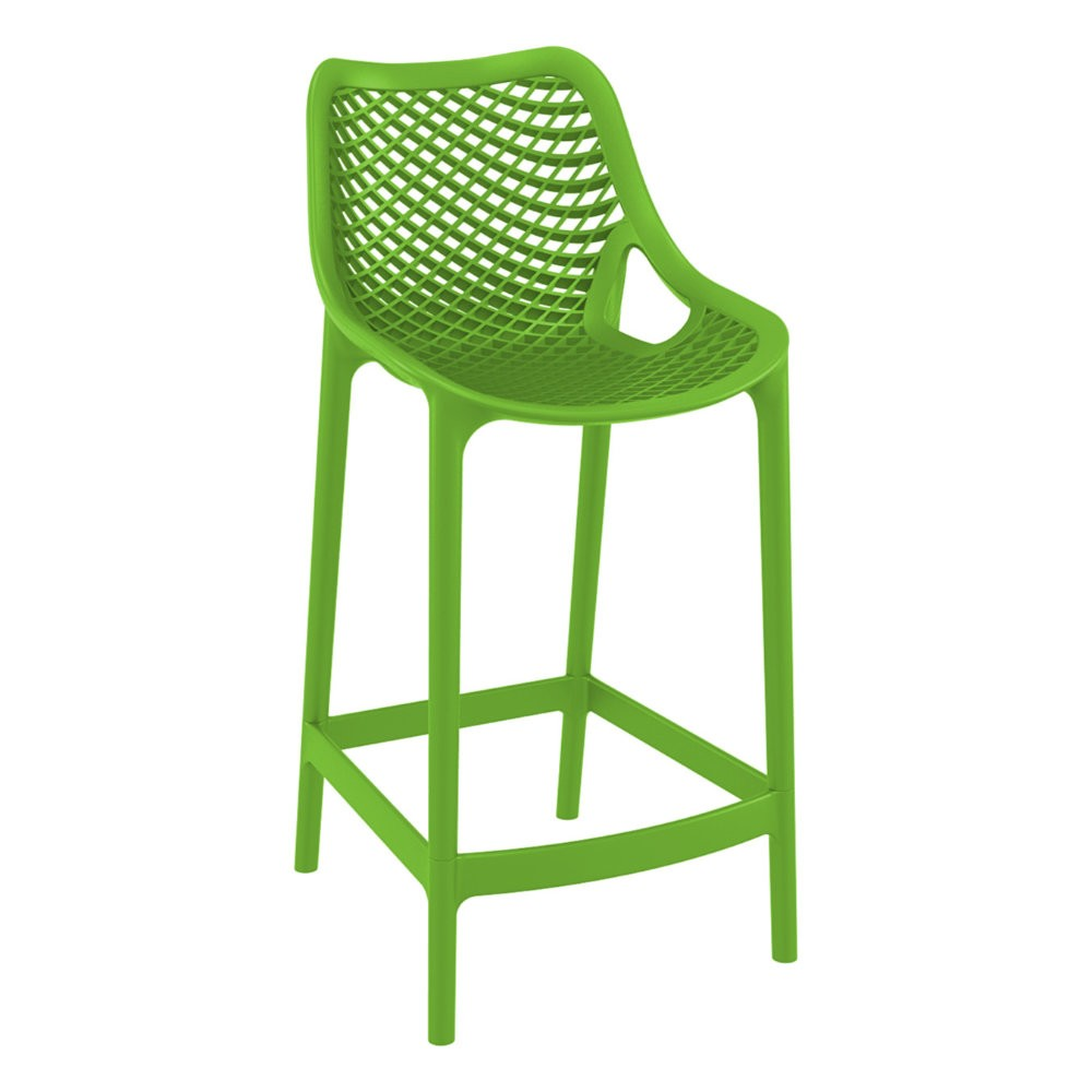 Air Outdoor Counter High Chair Tropical Green