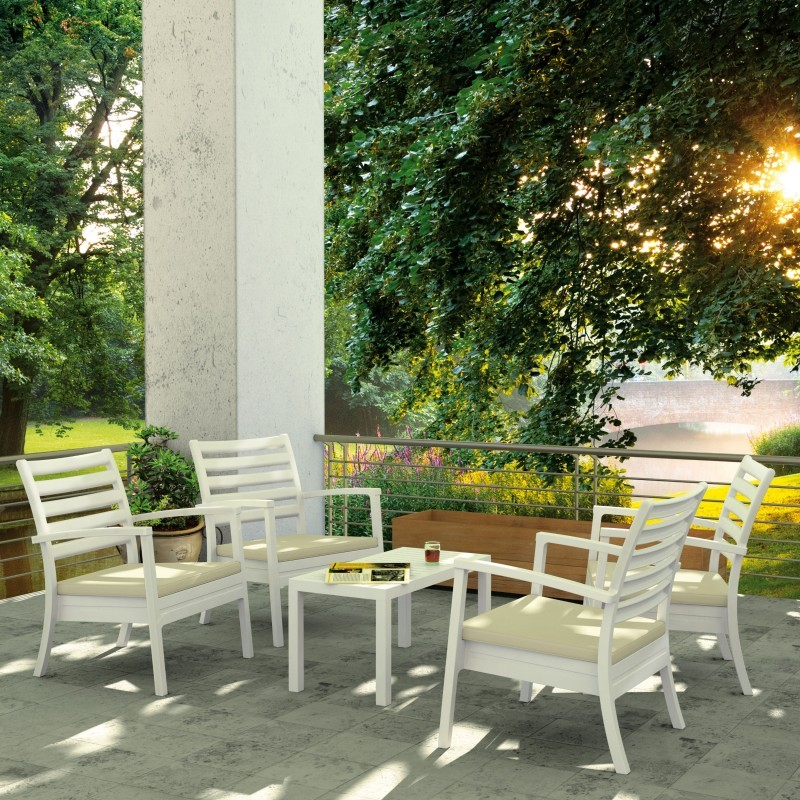 Artemis XL Outdoor Club Seating set 5 Piece