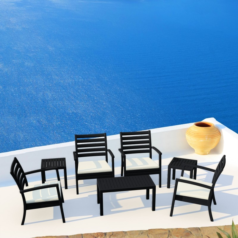 Artemis XL Outdoor Club Seating set 7 Piece