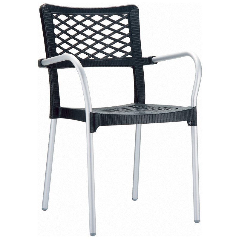 Bella Outdoor Arm Chair Anthracite