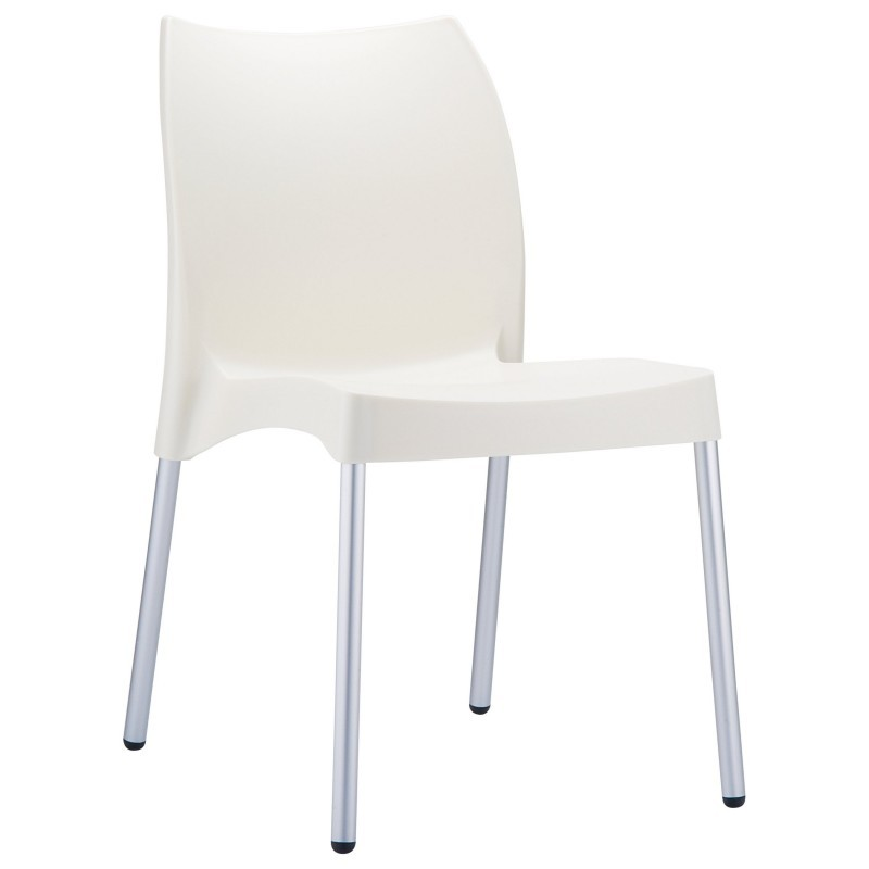 DV Vita Resin Outdoor Chair Beige : Dining Chairs
