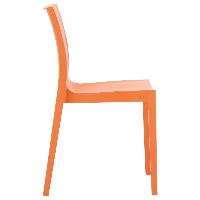 Lucca Outdoor Dining Chair Orange alternative photo #1