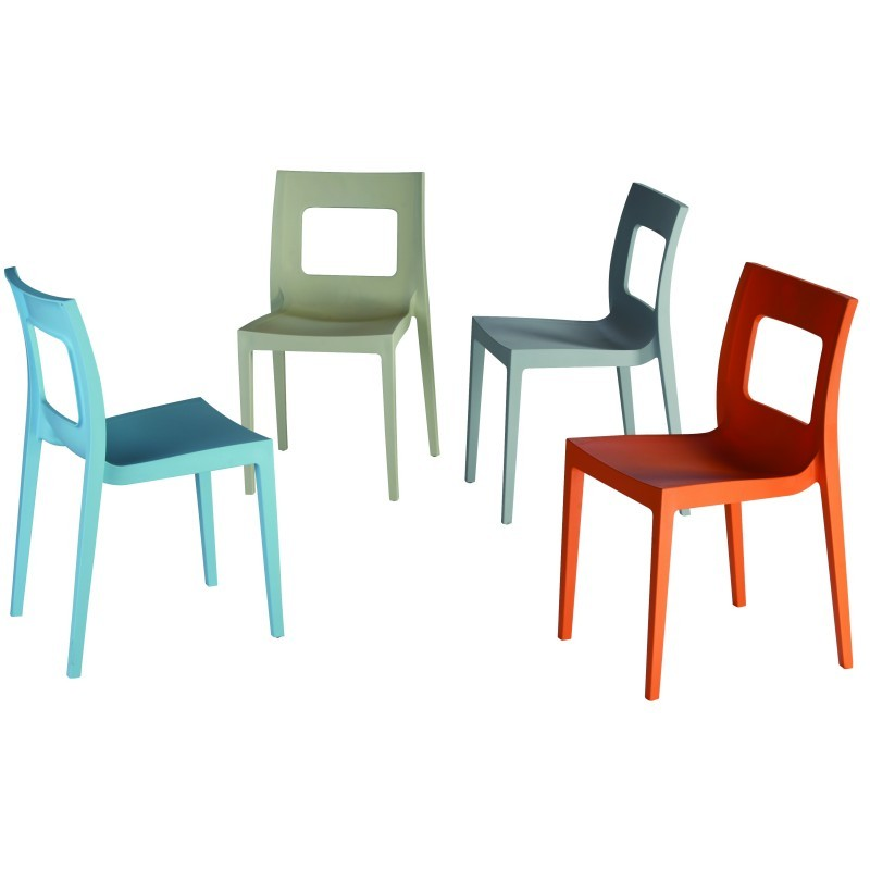 Lucca Outdoor Dining Chair Blue alternative photo