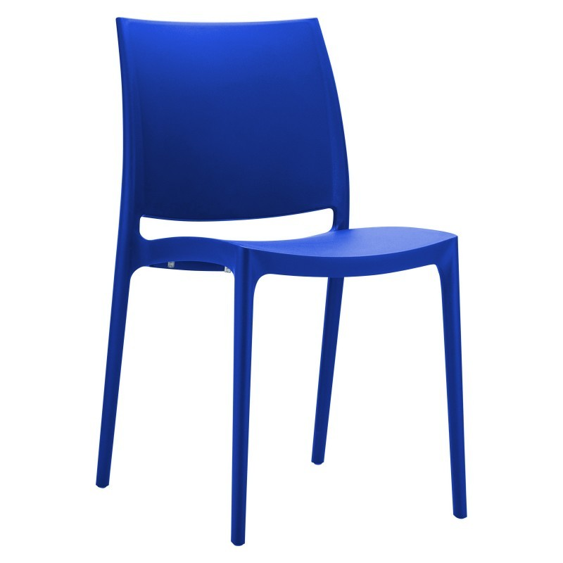 Maya Dining Chair Dark Blue : Dining Chairs