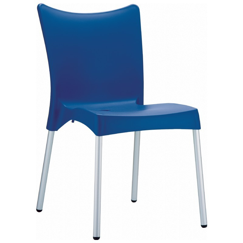RJ Resin Outdoor Chair Blue : Dining Chairs