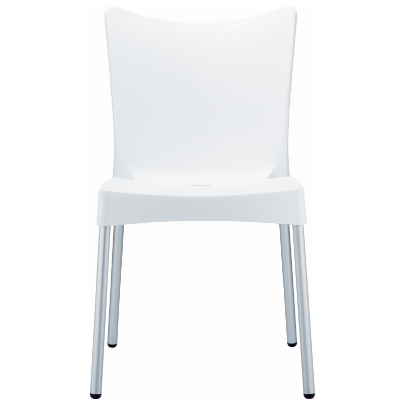 Siesta Juliette Plastic Dining Chair White alternative photo