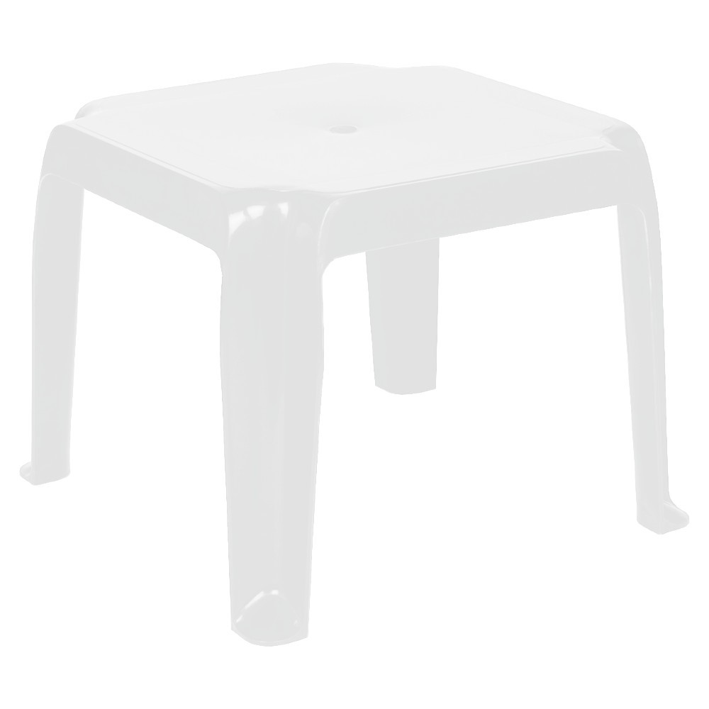 Commercial Sunray Resin Side Table