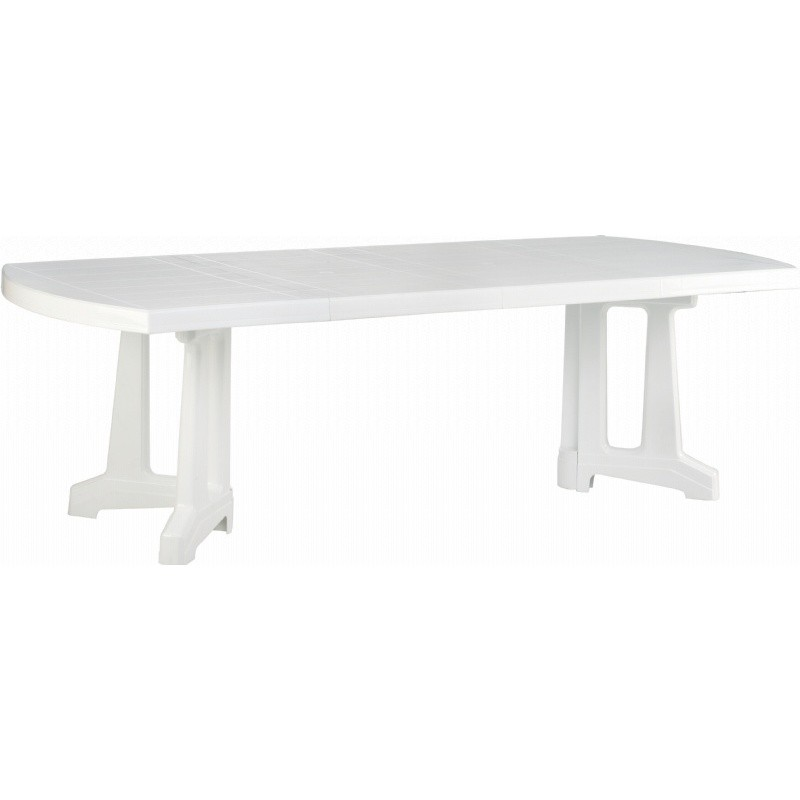 Sunrise Extendable Resin Dining Table 95 inch