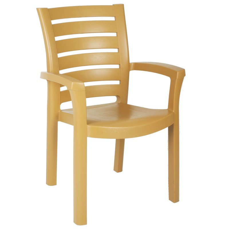 Marina Stacking Plastic Resin Outdoor Restaurant Chair  : 16016teak0 from outdoorrestaurantchairs.com size 800 x 800 jpeg 45kB