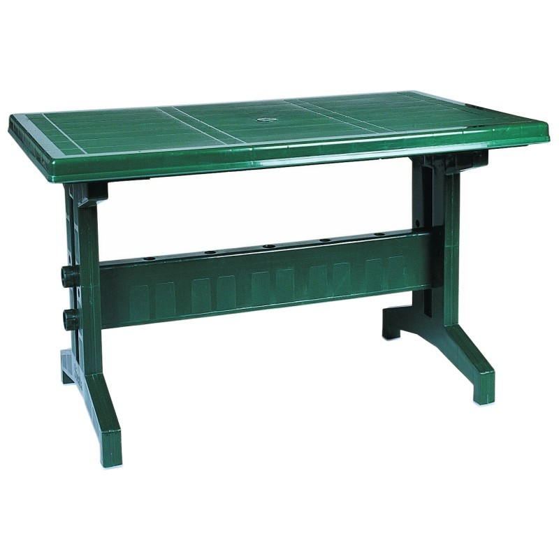 Sunshine Rectangle Slim Resin Table Green Isp180 Cozydays