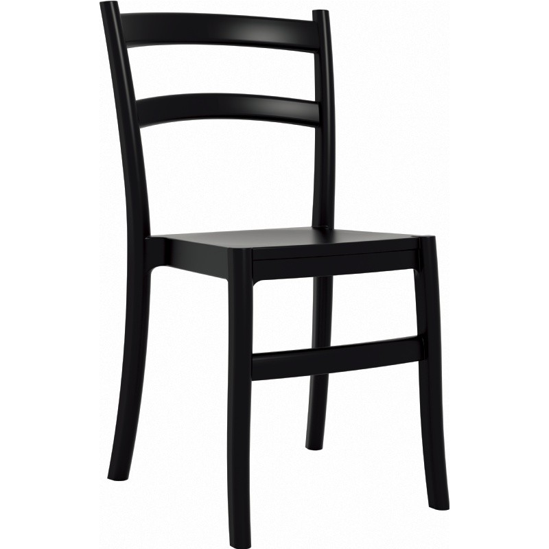 Tiffany Cafe Outdoor Dining Chair Black : Dining Chairs