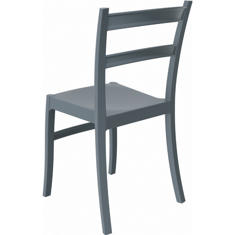 Tiffany Cafe Outdoor Dining Chair Dark Grey alternative photo #0