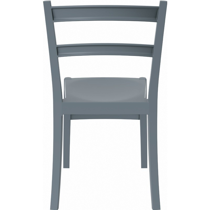 Tiffany Cafe Outdoor Dining Chair Dark Grey alternative photo #4
