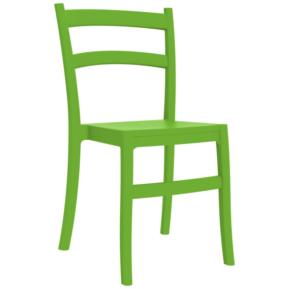 Tiffany Cafe Outdoor Restaurant Dining Chair Green