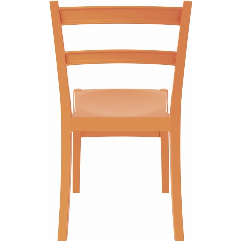 Tiffany Cafe Outdoor Dining Chair Orange alternative photo #1