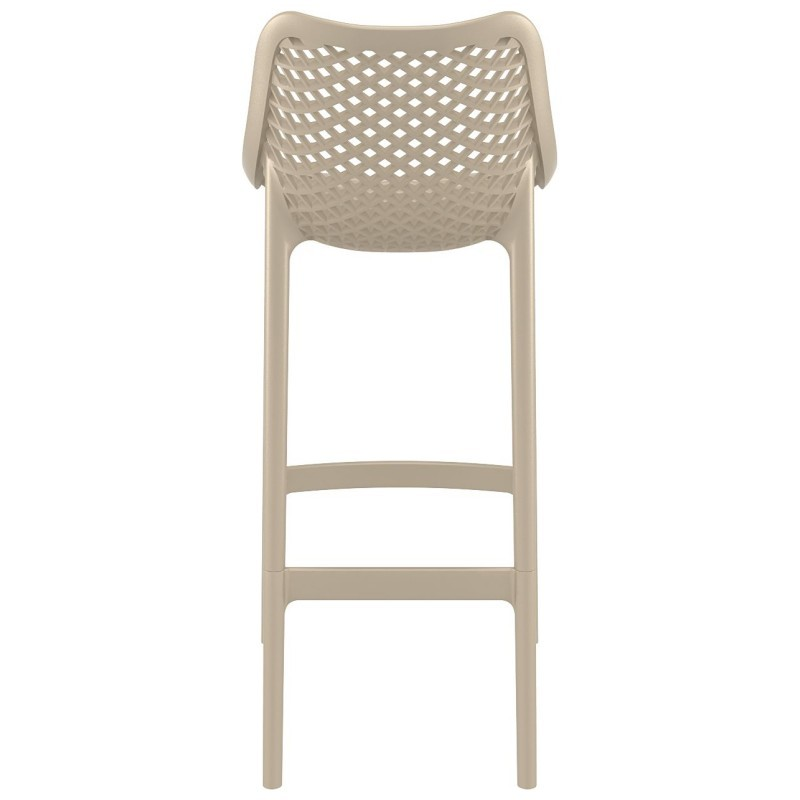 Air Outdoor Bar High Chair Dove Gray ISP068-DVR #2