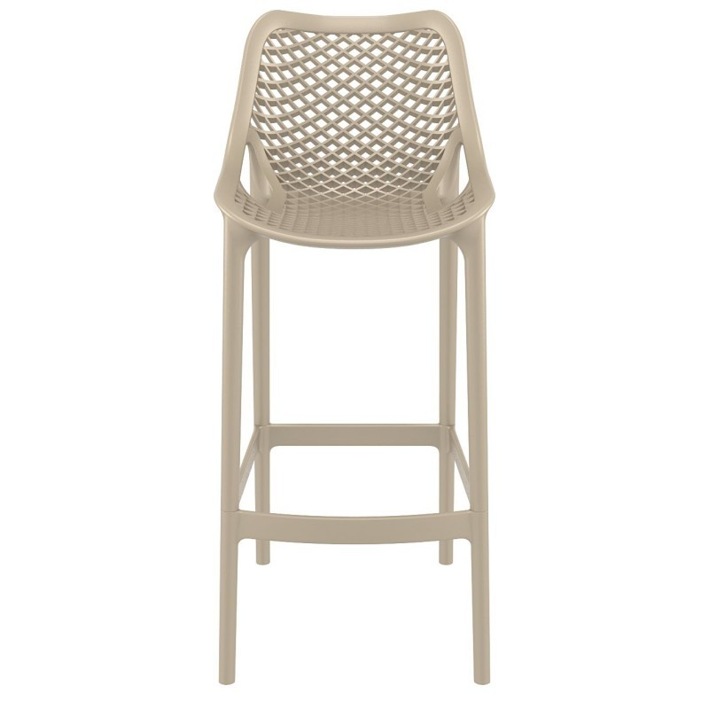 Air Outdoor Bar High Chair Dove Gray ISP068-DVR #4