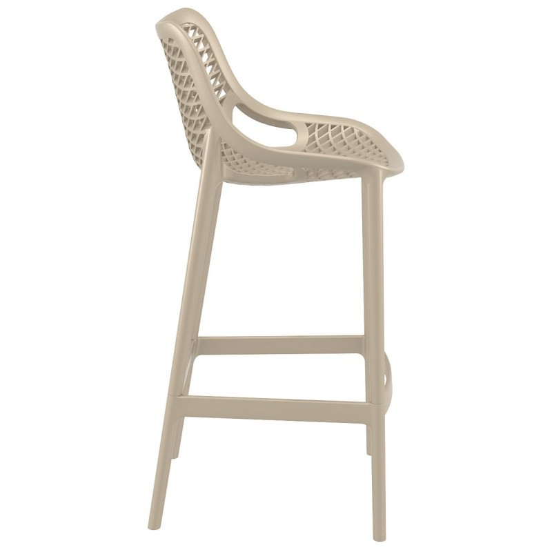 Air Outdoor Bar High Chair Dove Gray ISP068