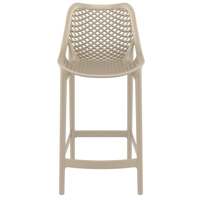 Air Outdoor Counter High Chair Dove Gray ISP067-DVR #5