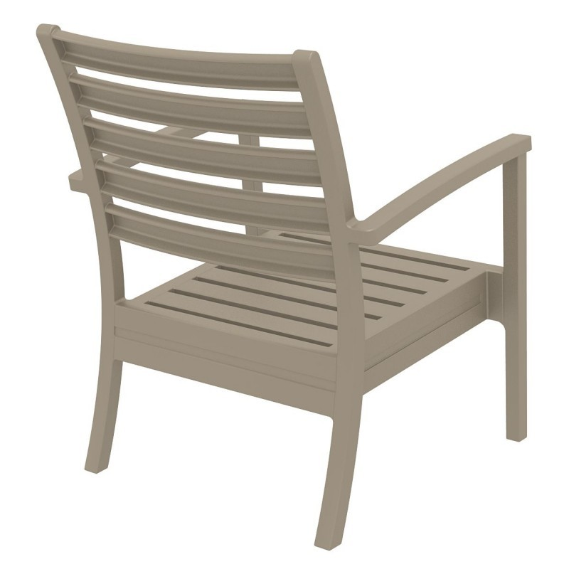 Artemis XL Outdoor Club Chair Dove Gray ISP004-DVR #3