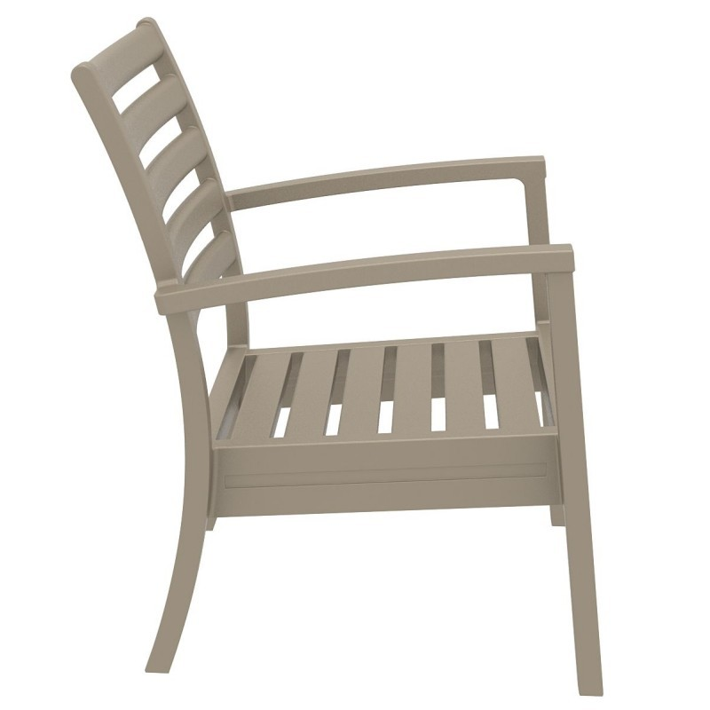 Artemis XL Outdoor Club Chair Dove Gray ISP004-DVR
